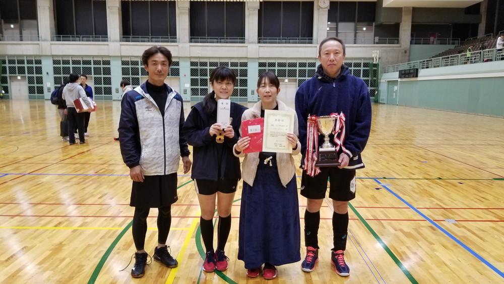 シニア男女混合の部 - 優勝 『マスター☆ピース』